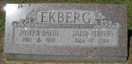 EKBERG, JOSEPH DAVID - Montgomery County, Ohio | JOSEPH DAVID EKBERG - Ohio Gravestone Photos
