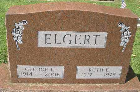 ELGERT, GEORGE L. - Montgomery County, Ohio | GEORGE L. ELGERT - Ohio Gravestone Photos
