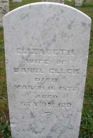 ELLER, ELIZABETH - Montgomery County, Ohio | ELIZABETH ELLER - Ohio Gravestone Photos