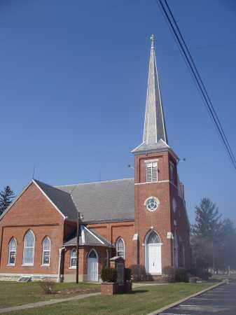 ELLERTON, CEMETERY CHURCH - Montgomery County, Ohio | CEMETERY CHURCH ELLERTON - Ohio Gravestone Photos