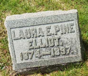 PINE ELLIOT, LAURA E - Montgomery County, Ohio | LAURA E PINE ELLIOT - Ohio Gravestone Photos
