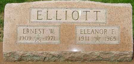 ELLIOTT, ERNEST W - Montgomery County, Ohio | ERNEST W ELLIOTT - Ohio Gravestone Photos