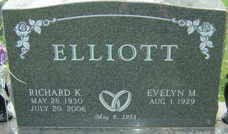 ELLIOTT, RICHARD K - Montgomery County, Ohio | RICHARD K ELLIOTT - Ohio Gravestone Photos