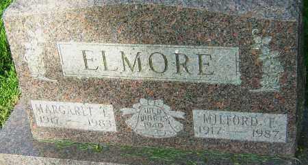 ELMORE, MILFORD F - Montgomery County, Ohio   MILFORD F ELMORE - Ohio Gravestone Photos