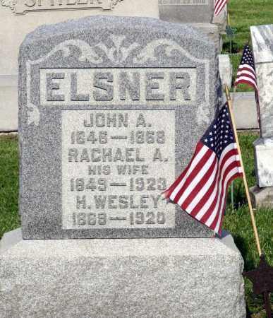 ELSNER, H. WESLEY - Montgomery County, Ohio | H. WESLEY ELSNER - Ohio Gravestone Photos