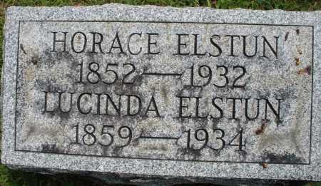 ELSTUN, HORACE - Montgomery County, Ohio | HORACE ELSTUN - Ohio Gravestone Photos