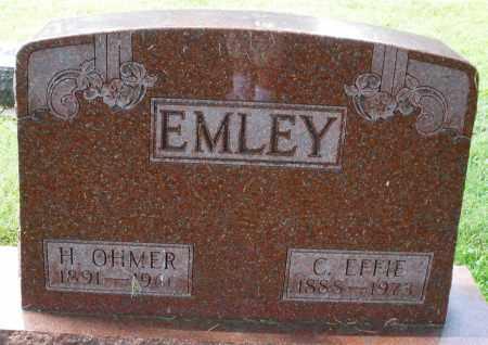 EMLEY, C. EFFIE - Montgomery County, Ohio | C. EFFIE EMLEY - Ohio Gravestone Photos