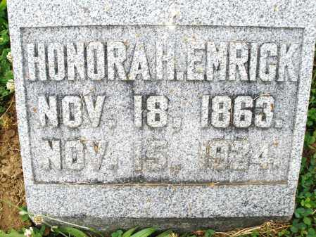EMRICK, HONORA H. - Montgomery County, Ohio | HONORA H. EMRICK - Ohio Gravestone Photos