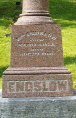 ENDSLOW, WILLIAM - Montgomery County, Ohio | WILLIAM ENDSLOW - Ohio Gravestone Photos