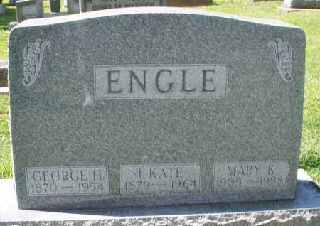 ENGLE, I. KATE - Montgomery County, Ohio | I. KATE ENGLE - Ohio Gravestone Photos
