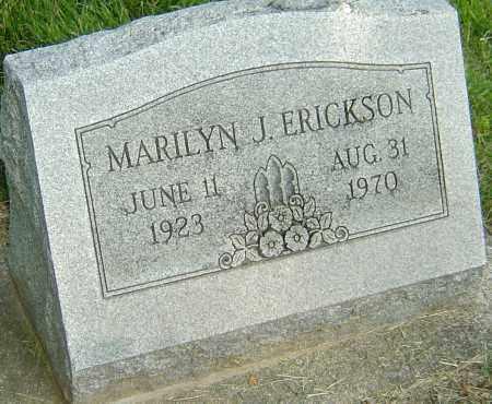 ERICKSON, MARILYN J - Montgomery County, Ohio | MARILYN J ERICKSON - Ohio Gravestone Photos