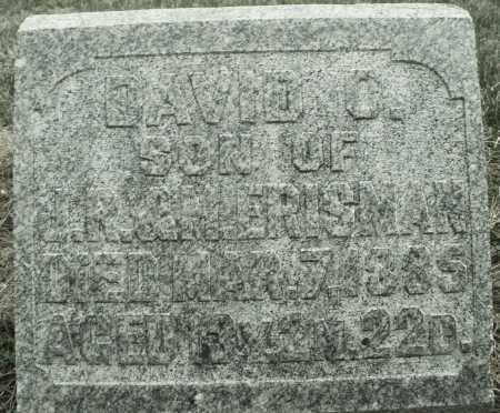 ERISMAN, DAVID O. - Montgomery County, Ohio   DAVID O. ERISMAN - Ohio Gravestone Photos