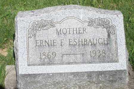 ESHBAUGH, ERNIE F. - Montgomery County, Ohio | ERNIE F. ESHBAUGH - Ohio Gravestone Photos