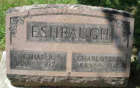 ESHBAUGH, ETHAN R. - Montgomery County, Ohio | ETHAN R. ESHBAUGH - Ohio Gravestone Photos