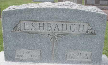 ESHBAUGH, LEVI - Montgomery County, Ohio | LEVI ESHBAUGH - Ohio Gravestone Photos