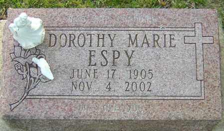 ESPY, DOROTHY MARIE - Montgomery County, Ohio | DOROTHY MARIE ESPY - Ohio Gravestone Photos
