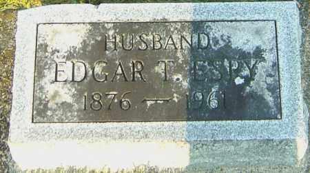 ESPY, EDGAR T - Montgomery County, Ohio | EDGAR T ESPY - Ohio Gravestone Photos
