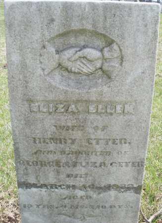 ETTER, ELIZABETH - Montgomery County, Ohio | ELIZABETH ETTER - Ohio Gravestone Photos