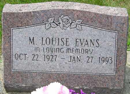 EVANS, M LOUISE - Montgomery County, Ohio   M LOUISE EVANS - Ohio Gravestone Photos