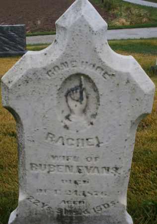 EVANS, RACHEL - Montgomery County, Ohio   RACHEL EVANS - Ohio Gravestone Photos