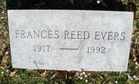 EVERS, FRANCES - Montgomery County, Ohio | FRANCES EVERS - Ohio Gravestone Photos