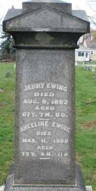EWING, ANGELINE - Montgomery County, Ohio | ANGELINE EWING - Ohio Gravestone Photos