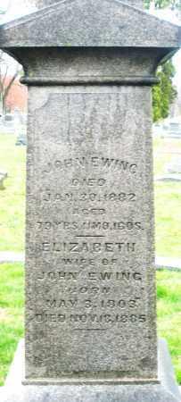 EWING, ELIZABETH - Montgomery County, Ohio | ELIZABETH EWING - Ohio Gravestone Photos