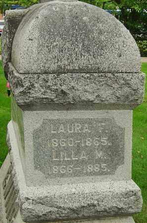 EWING, LAURA F - Montgomery County, Ohio | LAURA F EWING - Ohio Gravestone Photos