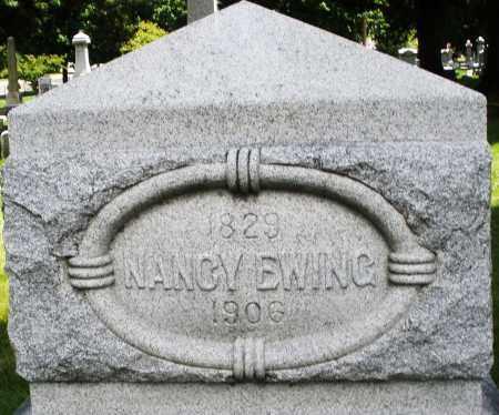 EWING, NANCY - Montgomery County, Ohio   NANCY EWING - Ohio Gravestone Photos