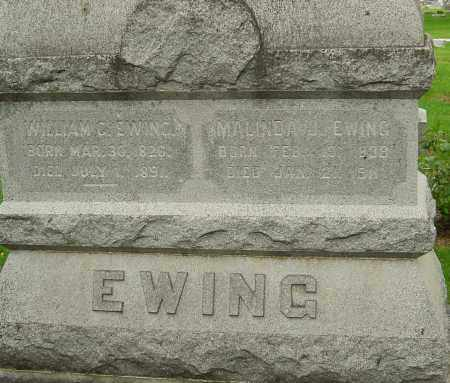 EWING, MALINDA JANE - Montgomery County, Ohio | MALINDA JANE EWING - Ohio Gravestone Photos
