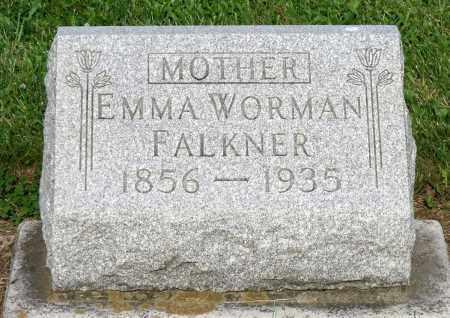 FALKNER, EMMA - Montgomery County, Ohio | EMMA FALKNER - Ohio Gravestone Photos