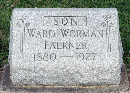 FALKNER, WARD WORMAN - Montgomery County, Ohio | WARD WORMAN FALKNER - Ohio Gravestone Photos