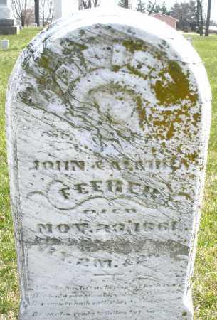 FEERER/FEEBER ?, ? - Montgomery County, Ohio | ? FEERER/FEEBER ? - Ohio Gravestone Photos