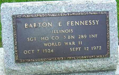 FENNESSY, BARTON E - Montgomery County, Ohio | BARTON E FENNESSY - Ohio Gravestone Photos