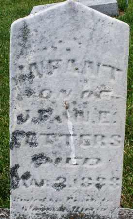 FETTERS, INFANT SON - Montgomery County, Ohio   INFANT SON FETTERS - Ohio Gravestone Photos