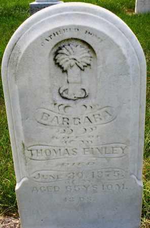 FINLEY, BARBARA - Montgomery County, Ohio | BARBARA FINLEY - Ohio Gravestone Photos