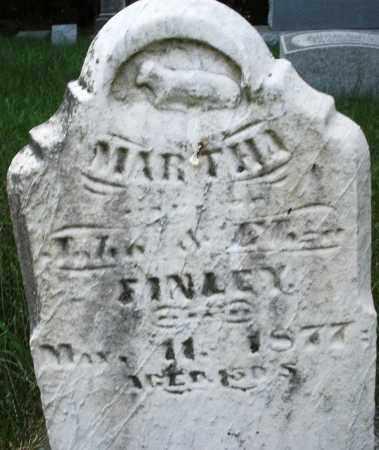 FINLEY, MARTHA - Montgomery County, Ohio | MARTHA FINLEY - Ohio Gravestone Photos