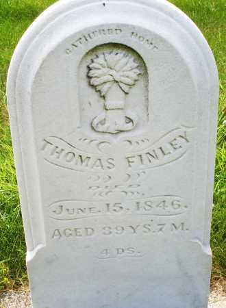 FINLEY, THOMAS - Montgomery County, Ohio | THOMAS FINLEY - Ohio Gravestone Photos