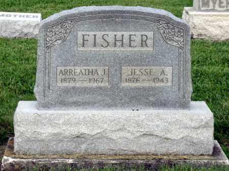 FISHER, ARREATHA J. - Montgomery County, Ohio   ARREATHA J. FISHER - Ohio Gravestone Photos