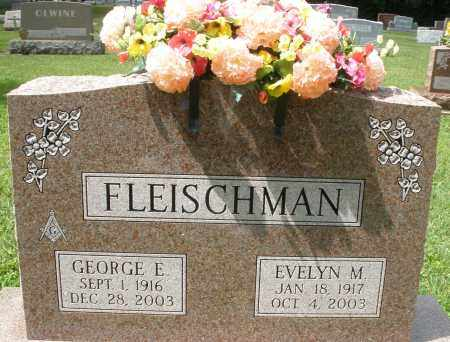 FLEISCHMAN, EVELYN M. - Montgomery County, Ohio | EVELYN M. FLEISCHMAN - Ohio Gravestone Photos