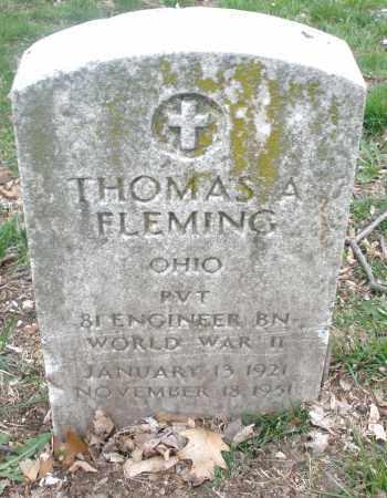 FLEMING, THOMAS A. - Montgomery County, Ohio | THOMAS A. FLEMING - Ohio Gravestone Photos