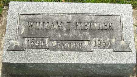 FLETCHER, WILLIAM T - Montgomery County, Ohio | WILLIAM T FLETCHER - Ohio Gravestone Photos