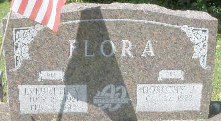 FLORA, EVERETTE V. - Montgomery County, Ohio | EVERETTE V. FLORA - Ohio Gravestone Photos