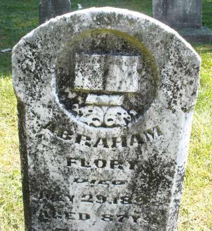 FLORY, ABRAHAM - Montgomery County, Ohio | ABRAHAM FLORY - Ohio Gravestone Photos