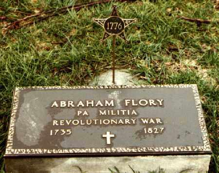 FLORY, ABRAHAM - Montgomery County, Ohio   ABRAHAM FLORY - Ohio Gravestone Photos