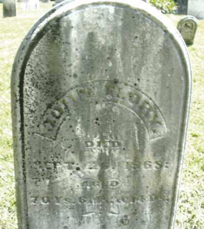 FLORY, JOHN - Montgomery County, Ohio | JOHN FLORY - Ohio Gravestone Photos