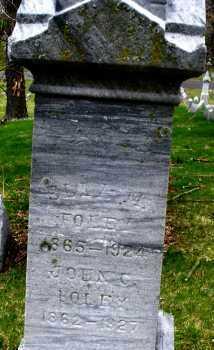 FOLEY, EMMA M. - Montgomery County, Ohio | EMMA M. FOLEY - Ohio Gravestone Photos