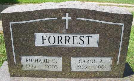 FORREST, RICHARD E. - Montgomery County, Ohio   RICHARD E. FORREST - Ohio Gravestone Photos