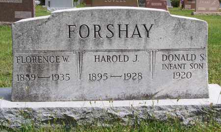 FORSHAY, HAROLD J. - Montgomery County, Ohio | HAROLD J. FORSHAY - Ohio Gravestone Photos