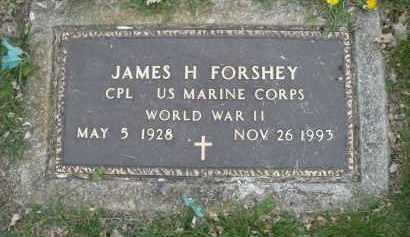 FORSHEY, JAMES H. - Montgomery County, Ohio | JAMES H. FORSHEY - Ohio Gravestone Photos